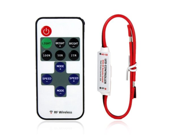Mini LED Controller Dimmer with RF Wireless Remote Control DC 5~24V 12A R106