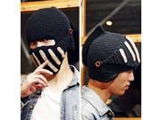 M3R Fashion Unisex Crochet Knit Beanie Ski Roman Knight Hat Gladiator Mask Wool Cap
