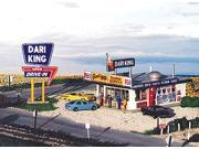 "Blair Line - Dari-King Drive In Restaurant - Kit -- 4 x 5""  10 x 12.5cm - HO"