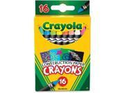 Crayola 16 Construction Paper Crayons CYO525817