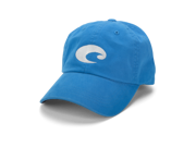 Washed cotton twill. Embroidered Costa logo. Adjustable cap with Velcro closure. Available in a variety of colors.