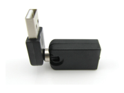 20pcs / lot  New USB 2.0 Male To USB Female 360 Degree Rotation Angle Extension Adapter