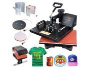 5 in 1 Heat Press Machine Boasts All of the Must Have Attachments 110v