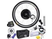 26in Front Electric Bicycle Motor Conversion Kit 48v 1000w