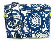 Ju-Ju-Be Better Be Diaper Bag Cobalt Blossoms