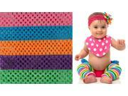My Little Legs Bright Crochet Headbands 5 Pack