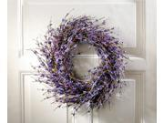 Purple Wreath - Lavender-inspired Dried Door Wreath