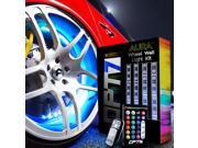 "OPT7 AuraColor Wheel Well LED Kit 3-In-1 4Pcs Complete 24"" Multi-Color Strips"