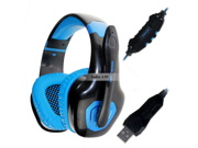 Sades A50 7.1 Channel Surround Sound Effect USB Gaming Headset Headphone with Microphone in Retail box