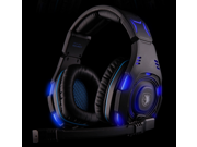 Original SADES SA-907 Game Headset Studio Headphone With Microphone Game Earphones Voice Headset With Mic For PC Game