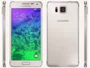 SAMSUNG GALAXY ALPHA G850A - AT&T UNLOCKED - BRAND NEW SEALED - WHITE - 4G/LTE - SMART PHONE