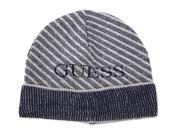 Guess men's beanie hat blu