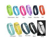 5pcs Replacement Wrist Band With Clasps for Fitbit Flex Only/No Tracker/ Wireless Activity Bracelet(Mixed color optional)Size L