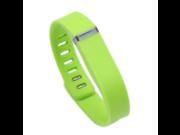 2PCS  Replacement Wrist Band &Clasp for Fitbit Flex Bracelet (NoTracker) Color Green lemon Size L