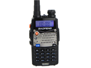 Baofeng UV5RA Ham Two Way Radio 136-174/400-480 MHz Dual-Band Transceiver Walkie Talkie interphone(Black)
