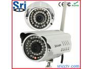 Sricam hot selling waterproof Outdoor Bullet Infrared wireless security ip camera