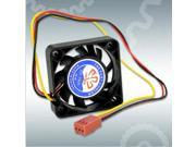 2 Pcs New Case Fan 3 Pins 12V DC CPU Cooler Cooling PC Computer Heatsink 40mm x 40mm x 10mm