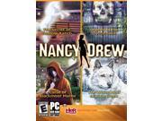 Nancy Drew 4-Pack w/Blackmoor, ShadowRanch,WhiteWolf &Crystal