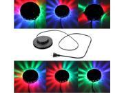Voice activated 48 LED RGB Stage Rotating Light Lamp Disco Bar DJ Party Flashing