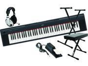 Yamaha NP-31 76-Key Portable Grand Digital Piano Value Bundle