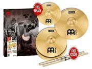 Meinl HCS Three for Free Cymbal Pack with Free Splash
