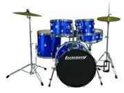 Ludwig Accent Fusion Drum Set with Hardware & Cymbals (Black)
