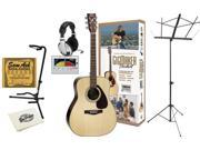 Yamaha GigMaker Standard Acoustic Guitar Package Bundle (Natural)