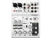 Yamaha AG Mixer / USB Audio Interface (6-Channel)