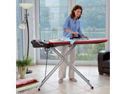 Household Essentials Leifheit AirActive L Steamer Ironing Board (Gray) (49.6H x 17.8W x 39D) 76101-1