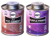 Harvey Cement/Primr Pvc 2Pk 1593-6651