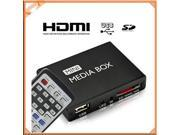 USB HD HDMI Multi Media Player Mini tv box android Display W/ Remote Control RC AV Out