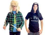 Wayne's World Garth and Wayne Costume Set