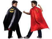 DC Comics Batman & Superman Reversible Super Hero Costume Accessory Cape