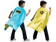 Child DC Comics Batman & Robin Reversible Superhero Hero Costume Accessory Cape