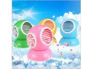 USB Fan Turbine No Hakaze Fan USB Mini Plastic Small Electric Fan USB Fan Yellow