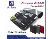 NEW Arrivel Cocoon GRID IT Organizer Storage Bag for Ipad Mini Office Cable Travel Accessory Case Bag
