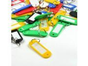 3 Pieces Assorted Color Coded Key Tag with Label Window Ring Holder with LCD Cleaner Stylus
