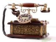 New comming antique corded telephone from China resin & wood 2 in 1 SM1200D