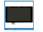 LCD Screen with touch screen digitizer Assembly For Sony Xperia Z Tablet SGP311