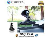 "Timetec Standard 1/4"" Tripod Universal Car Vehicle Windshield Window Mount Suction Cup Holder"