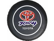 "Toyota RAV4 SUVs Car Spare Wheel Tire Tyre Cover Protector Soft Case 27""28""29"" M"
