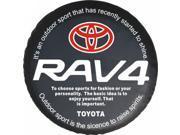 "Toyota SUV 4WD Spare Wheel Tire Tyre Soft Cover 30-31"" W/ RAV4 logo"