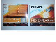 PHILIPS DVD-R 1x HD Pack of 5