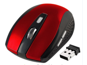 USB 2.4G Cordless Wireless Optical Mouse Mice Receiver for Laptop PC Computer