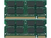 4GB Kit (2x2GB) 667MHz PC2-5300 200-Pin SODIMM DDR2 Memory RAM Apple MacBook PRO STICKS