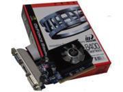 New Inno3D Video graphics Card nVidia GeForce 1 GB DDR3 VGA/DVI/HDMI PCI-Express x 16(SaveMart)