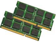 4GB (2x2G) DDR3 1333MHz PC3-10600 204-Pin SO-DIMM Laptop RAM Memory Low Density