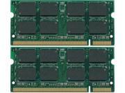 4GB Kit (2*2GB) PC5300 DDR2-667MHz 200-Pin SODIMM Memory Apple MacBook 2.0GHz Intel Core 2 Duo MB061LL/A