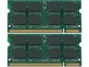 4GB (2x2GB) PC2-5300 DDR2-667MHz 200-Pin SODIMM LAPTOP NOTEBOOK MEMORY