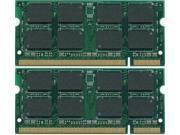 4GB KIT 2x2GB PC2-5300S DDR2-667 667Mhz 200pin SODIMM Memory Module